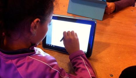 Usage de tablettes numériques en classe de primaire | Theghost | Scoop.it
