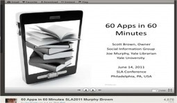 60 Apps in 60 Minutes Presentation | teaching with technology | Scoop.it