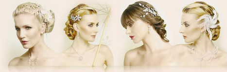 How To Make Perfect Combination Of Bridal Hair Style With The Bridal Dress | Hair4Brides | Scoop.it