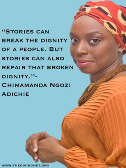 TED Talk by Chimamanda Ngozi Adichie: The danger of a single story | The Giving Net | Scoop.it