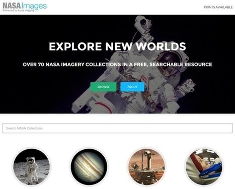 Explorer les collections de photos de la Nasa | TICE, Web 2.0, logiciels libres | Scoop.it