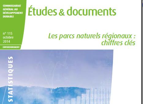 Les Parcs naturels régionaux : chiffres clés. | Centre de ressources Fédération des parcs naturels régionaux | Scoop.it