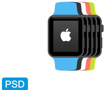 Next Big Thing: 24 kostenlose Apple Watch Templates für das perfekte Mockup - Dr. Web | freebies | Scoop.it