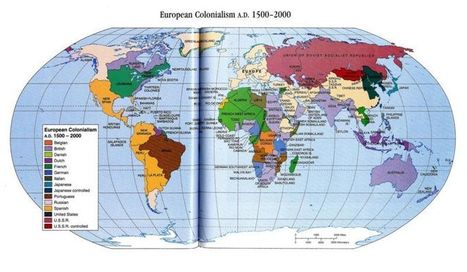 Image:European Colonialism 1500 AD to 2000.jpg - QED | What are we like? | Scoop.it