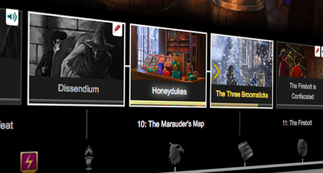 Pottermore Insider: Learn more about the Story Navigator | Pottermore | Scoop.it