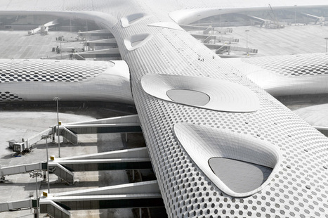 CHINA: Studio Fuksas expands Shenzhen bao'an international airport - designboom | architecture & design magazine | The Architecture of the City | Scoop.it