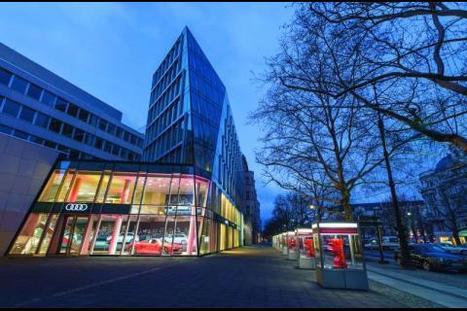 Audi joue la carte du digital en centre-ville   Marketing Automobile ( marketing, business et strategie)   Scoop.it
