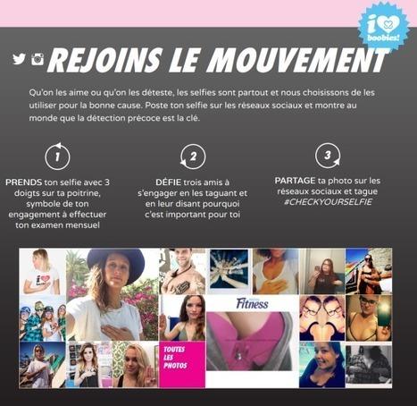 Check Your Self : une application mobile de prévention contre le cancer du sein | Digitized Health | Scoop.it