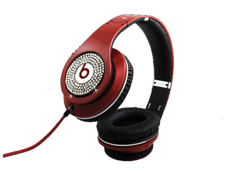 Eye-catching Monster Beats Dr Dre Studio Red Diamond Limited Edition Headphones_hellobeatsdreseller.com | Beats Limited Edition Diamond_hellobeatsdreseller.com | Scoop.it