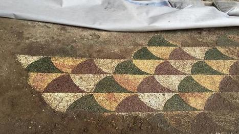 Rescatan parte de un milenario mosaico en las termas de Caracalla | opus vermiculatum | Scoop.it