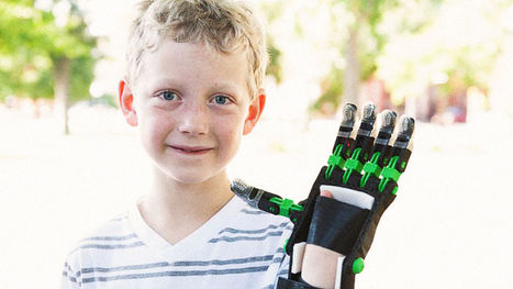 Matching People Who Have 3-D Printers With Children Who Need Prosthetic Hands | shubush digital | Scoop.it