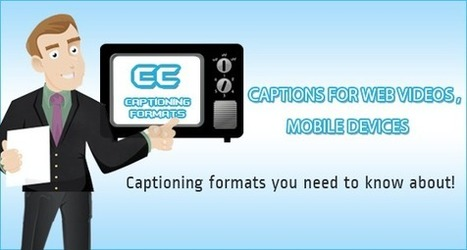 Captions for web videos and mobile devices | Transcriptionstar blog | Audio recording apps | Scoop.it