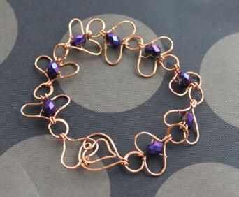 DIY Wire Jewelry Tutorial: Love Links Bracelet Tutorial   Making Wire Jewelry   Scoop.it