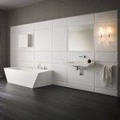 Esthétique et moderne, une salle de bains en Corian | Salle de bains | Scoop.it