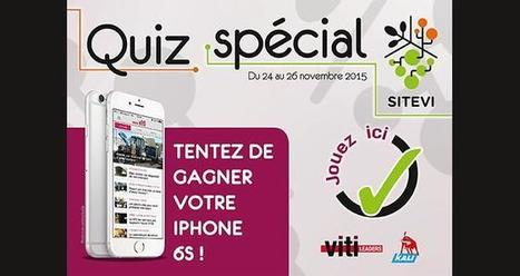 Pendant le #Sitevi, gagnez un iPhone 6S ! | Vin et Culture | Scoop.it