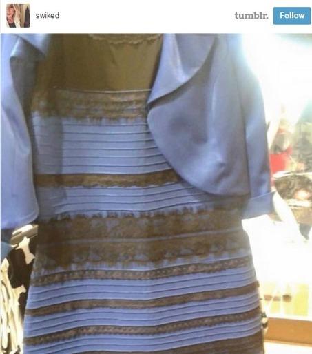 Internet in de ban van een (blauw met zwarte) jurk | 4pip | Scoop.it