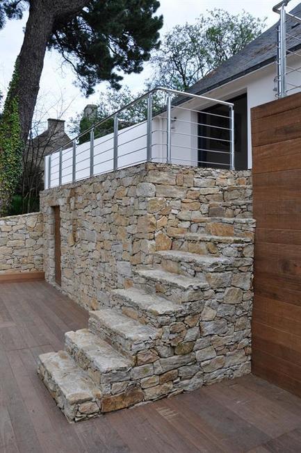 Avant - Après : Rénovation d'une maison des années 70 à l'Ile aux Moines - DomoZoom.com   Architecture, design et décoration   Scoop.it