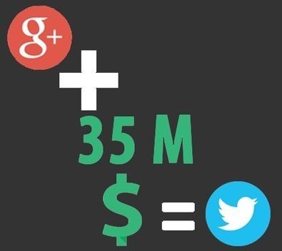 Google rachète enfin Twitter pour 35 Milliards | Facem Web | Marketing Web | Scoop.it