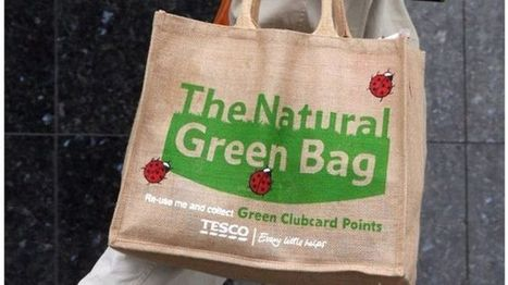 Tesco plastic bag use 'down 80% since 5p charge' - BBC News | year 12 AQA economics | Scoop.it