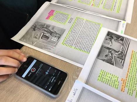 Usages du numérique : «s'entraîner à lire à voix haute» en concevant des contes audio. | Espace Pédagogique FLE | Scoop.it