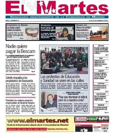 El Martes - Madrid en Danza incorpora un programa para construir microcomunidades entre coreógrafos | Festival Internacional Madrid en Danza 2012 | Scoop.it