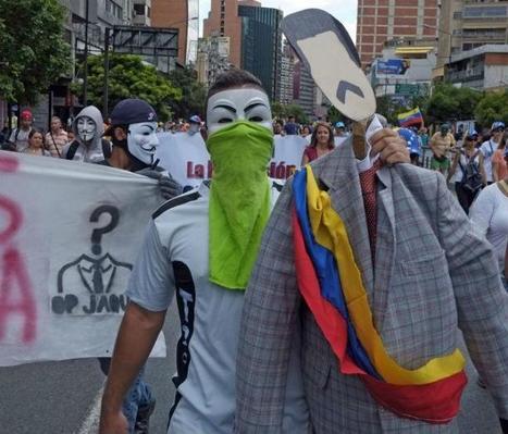 Venezuela's President Backtracks as Caracas Burns   Prospect of Venezuelan Democratization   Scoop.it