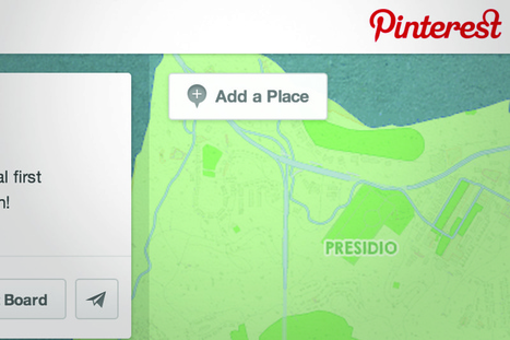 """Pinterest introduces """"place pins"""" to help users organize their travel 
