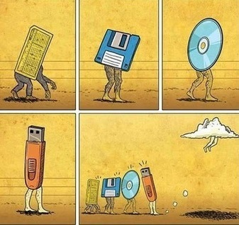 DashBurst - Google+ - The Evolution of Data Storage | Resources for DNLE for 21st Century | Scoop.it