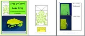 Celebrations across the Curriculum: FREE Leap Day Origami Frog   Homeschool Resources   Scoop.it