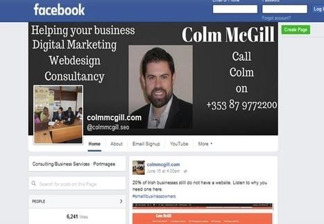 Facebook Marketing/Social media marketing   Colm McGill   Small Business Marketing   Scoop.it