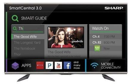Sharp LC80UQ17U | Reviews Sharp LC80UQ17U | New Television Reviews | Scoop.it