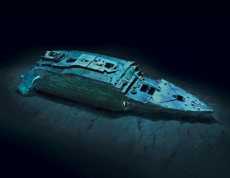 First-Ever Complete Views of Titanic | Indigo Scuba | Scoop.it