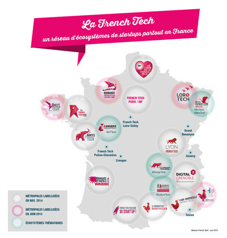 Axelle Lemaire annonce 8 nouvelles labellisations | Innovation Ecosystems - Hubs - Accelerators | Scoop.it