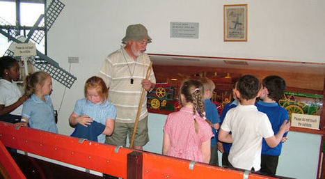 Lytham Windmill Museum - The Threshing Machine and its Operation   Invention Convention   Scoop.it