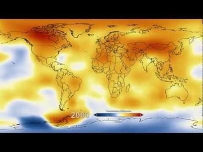 62ans de réchauffement climatique en 14secondes - Rue89   Ca m'interpelle...   Scoop.it