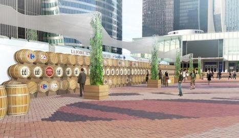 Carrefour et Arena imaginent une Foire aux Vins connectée sur le Parvis de La Défense | Digital experience in store | Scoop.it