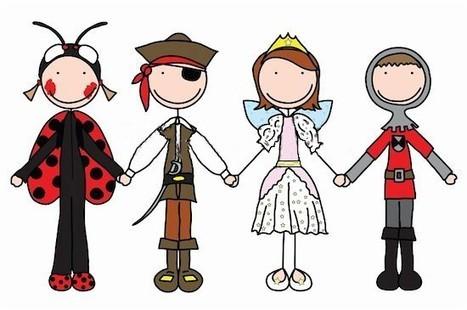 Idée déguisement carnaval : coccinelle, pirate, fée et chevalier   Idee-de-fete.com   Deguisement carnaval   Scoop.it