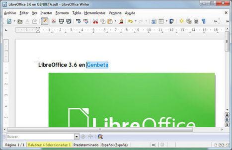 LibreOffice 3.6. Algunos cambios estéticos, nuevas prestaciones y una notable mejora en el arranque | Herramientas digitales | Scoop.it