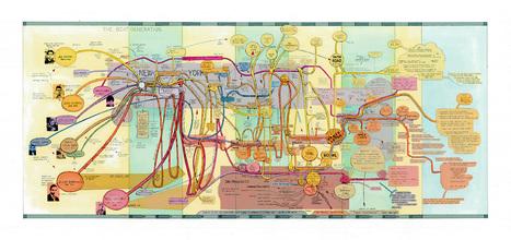 De la carte heuristique dans l'art et réciproquement | KILUVU | Scoop.it
