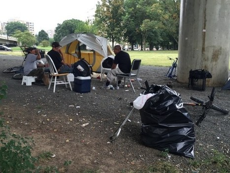 Tent City: Inside DC's homeless camps - WTOP | Homelessness | Scoop.it