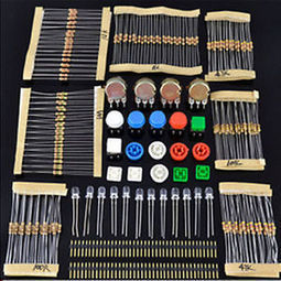 New Electronic Parts Pack Kit for Arduino Component Resistors Switch Button | Free Last Second Bid - Youbidder | Raspberry Pi | Scoop.it