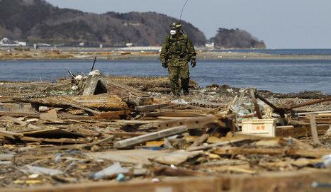 [Photo] Les recherches se poursuivent | ParisMatch.com | Japon : séisme, tsunami & conséquences | Scoop.it