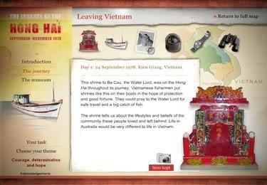 The journey of Hong Hau: design a museum exhibition | Scootle | Singapore - Vietnam Study Program, September 2013 | Scoop.it