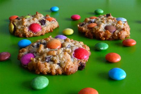 cookies aux smarties | Desserts | Scoop.it