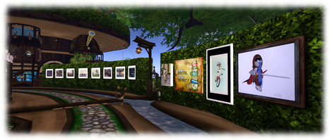Art in trees and Tiny hosts in Second Life | Art & Culture in Second Life - art Exhibitions, Literature, Groups & more | Scoop.it