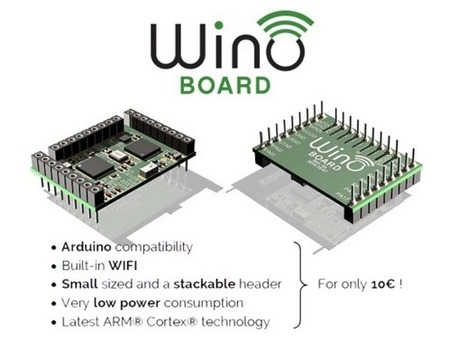 Wino is an $11 Arduino-like board with Wi-Fi | Raspberry Pi | Scoop.it