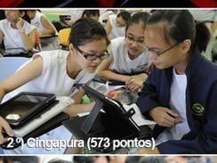 Brasil evolui, mas segue nas últimas posições em ranking de educação - Globo.com   Tecnologia em educação   Scoop.it