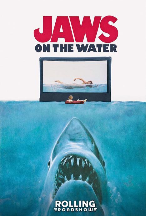 Ils vont regarder «Les Dents de la mer» sur des bouées au milieu de l'eau | ParisBilt | Scoop.it
