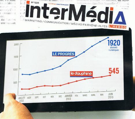 Au Progrès et au Dauphiné Libéré les ventes numériques décollent enfin | DocPresseESJ | Scoop.it