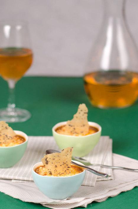 Petites crèmes au parmesan pour l'apéritif | The Voice of Cheese | Scoop.it